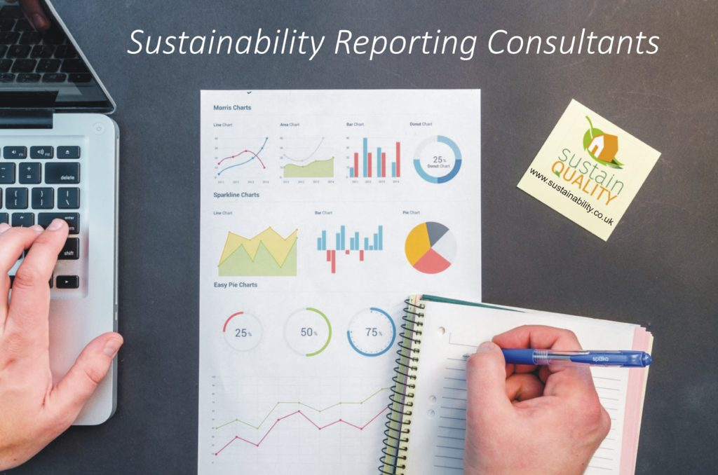 Sustainability reporting Consultants surrey