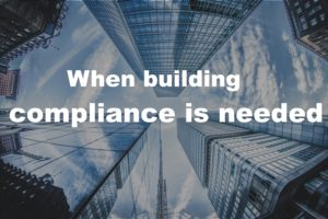 Building compliance management