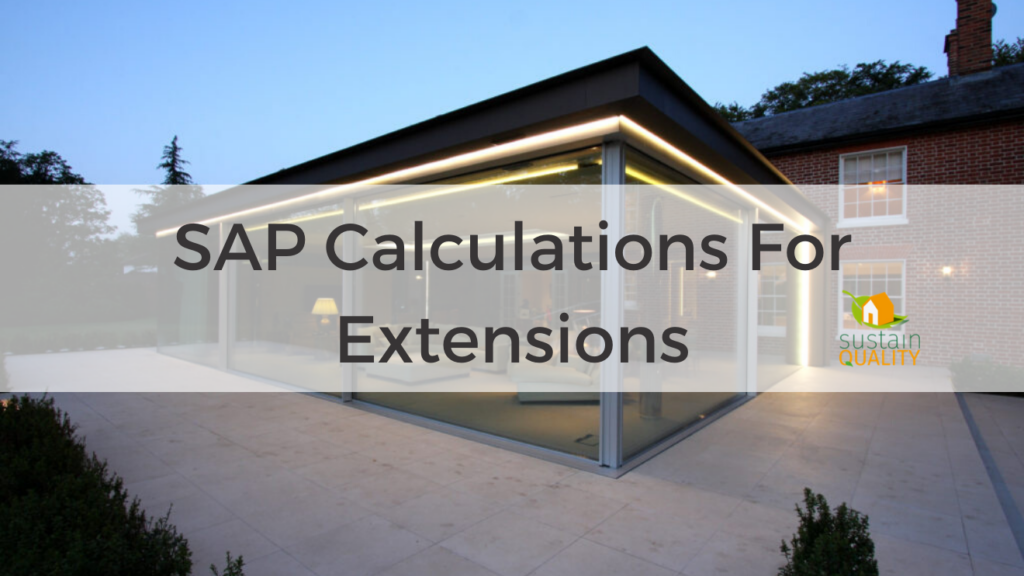 SAP Calculations For Extensions